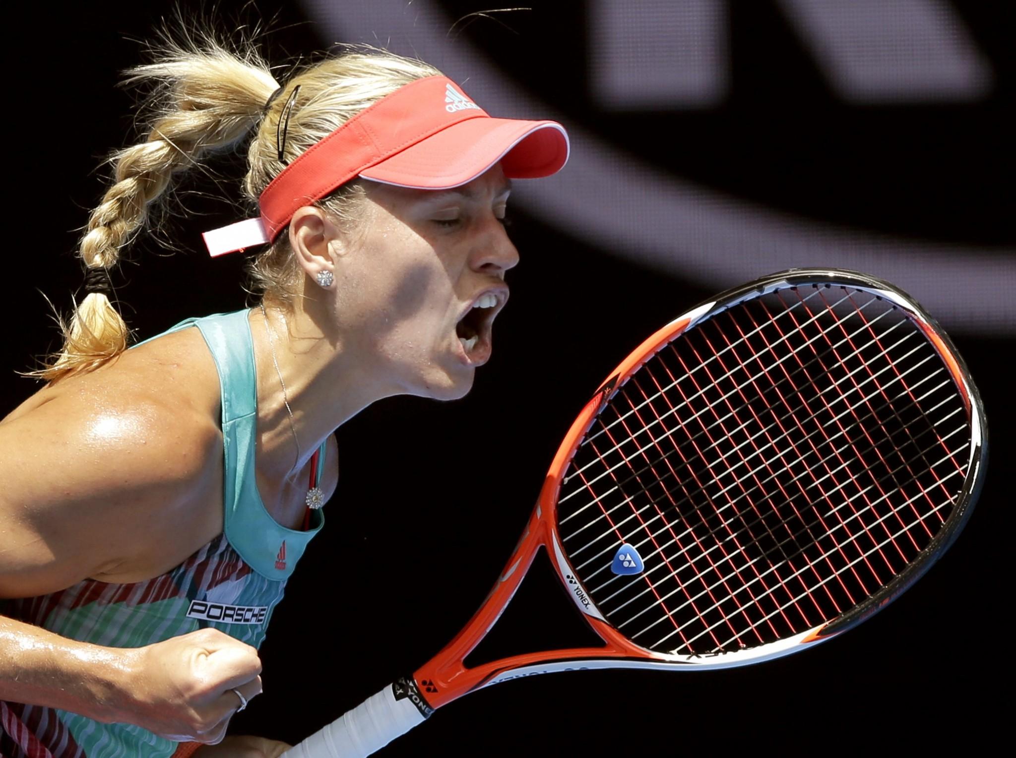 Angelique Kerber in finala Australian Open